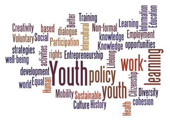 Youth policy wordle